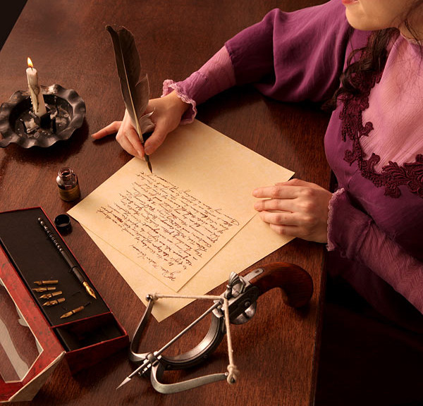 olde-tyme-writing-set-a-lady-writing